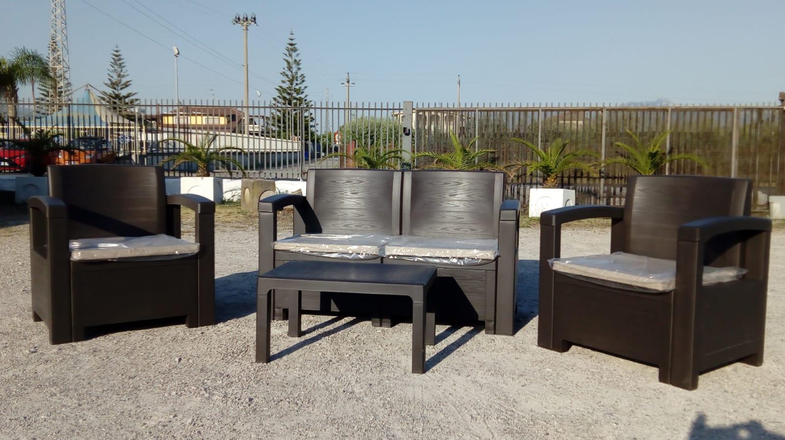 Divani giardino terrazzi San Diego Romaniello Mobili Battipaglia