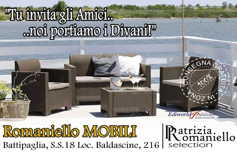 Divani giardino Romaniello Mobili Battipaglia